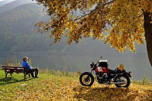 När vädret spelar med kan den sista motorcykelresan för året också bli dess absoluta höjdpunkt.