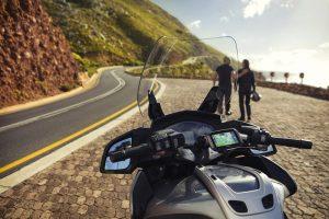 De förinstallerade rutterna ska hjälpa motorcyklister att få minnesvärda upplevelse längs vägen.