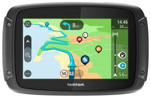 TomTom RIDER 450 kommer med 150 förinstallerade rutter och livstids uppdateringar av världskartor.